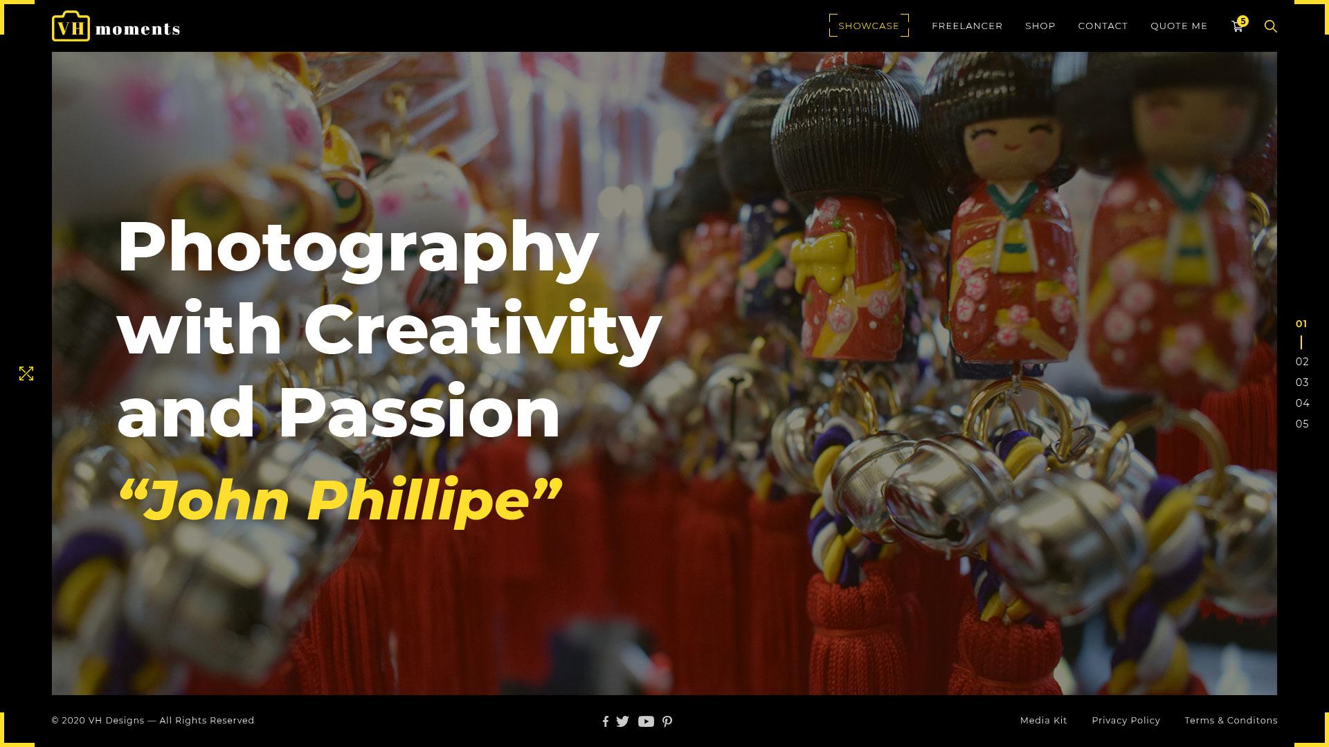 Varun Harikumar Portfolio vr photographerz photography template